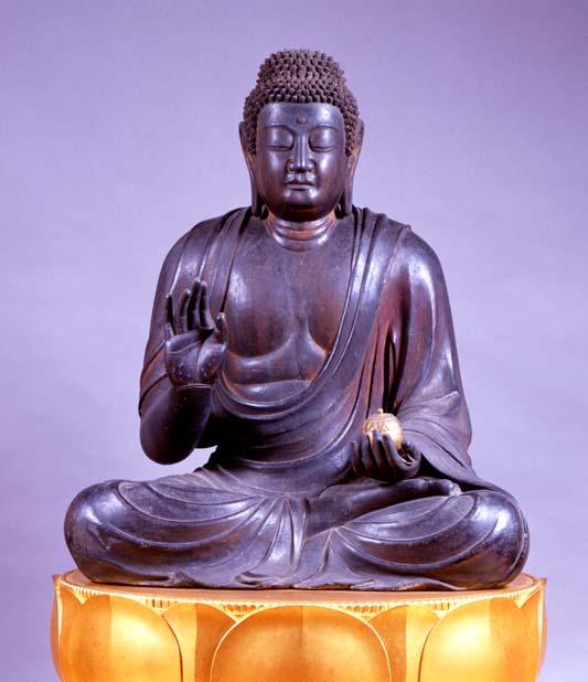 多田幸寺 木造薬師如来坐像